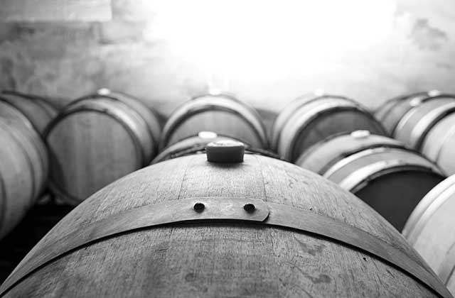 Wine barriques